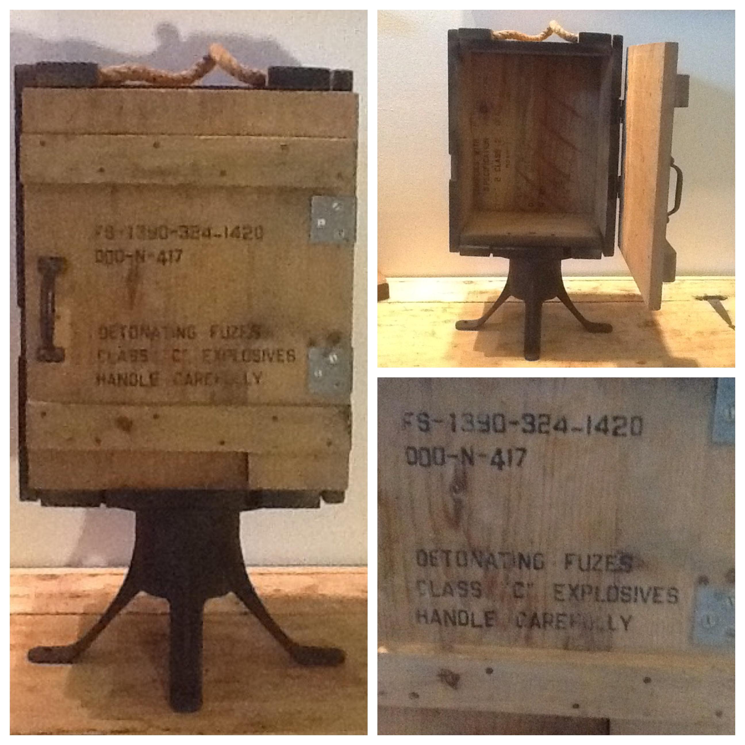 Man Cave Storage Moorabbin : Vintage ice chests antique treasures new beginnings by